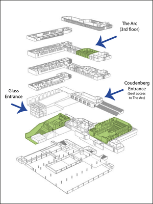Access plan to The Arc
